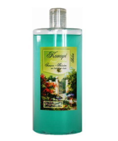 Výživný a regenerační vlasový šampón obsahuje extrakt konopí s přirozenými protialergickými, protibakteriálními a protizánětlivými vlastnostmi. Účinné látky intenzivně prostupují do všech vrstev kůže a důkladně vyživují vlasový kořínek, čímž podporují růst vlasu. Zároveň zpevňují jeho tvar a strukturu,omezují lámavost a zvětšují jejich objem. Šampón - balzám s konopím je určen pro lepší růst vlasů a je vhodný pro vlasy suché, poškozené a citlivé. Objem: 250 ml