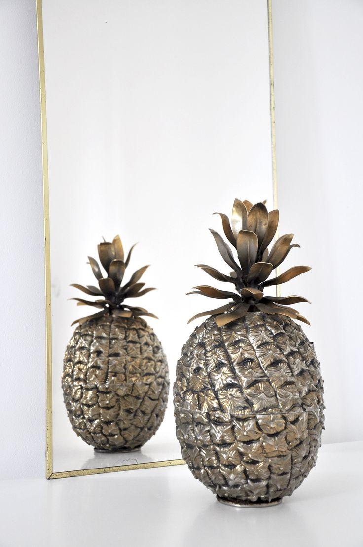 seau glace ananas mauro manetti dor mobilier vintage bel ordinaire bel ordinaire. Black Bedroom Furniture Sets. Home Design Ideas
