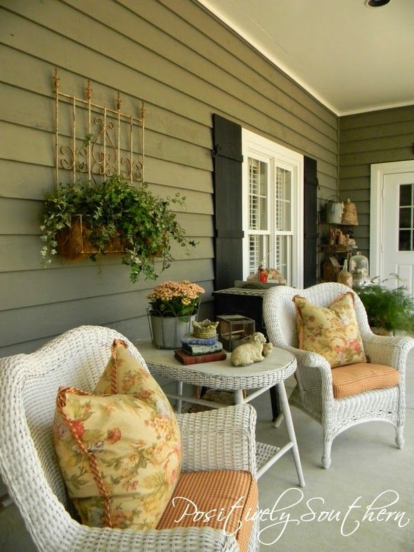 Positively Southern: A Southern Front Porch