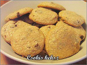Chocolate chip cookie – csokidarabos keksz