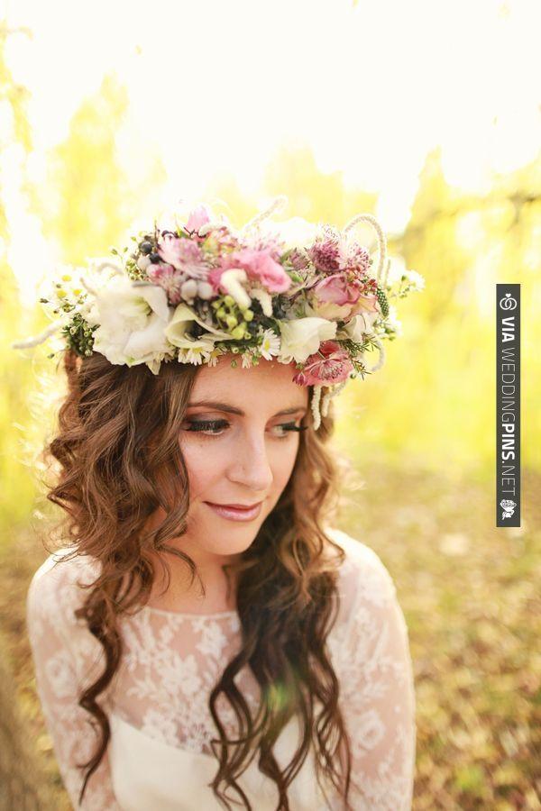 wedding halo | CHECK OUT MORE IDEAS AT WEDDINGPINS.NET | #weddinghair