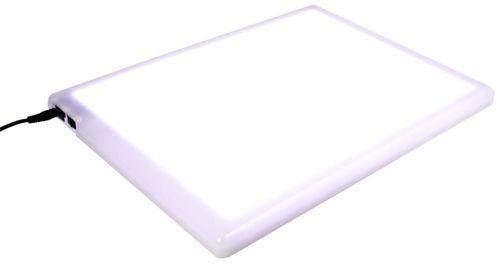 """-- Not necessarily this light box in particular, but I'd love a light box for the standard art reasons.  Oozak.com   Light Boxes   COPCMA4   COPIC - Comic Master L.E.D. Light Box, 10-7/8"""" x 14-1/4"""""""