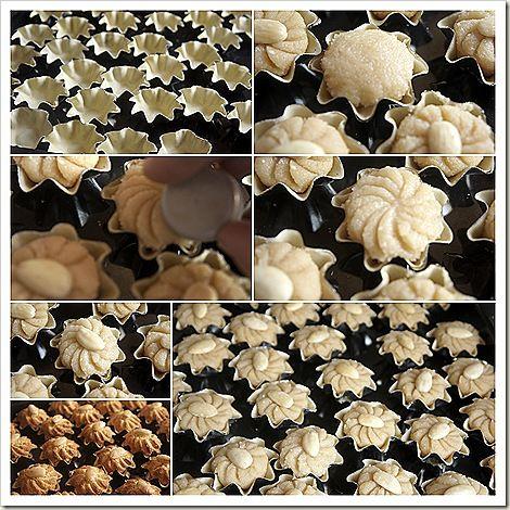 ταρτακια με αμυγδαλο Για τη ζύμη Αλεύρι 250 gr  75 γρ βούτυρο σε θερμοκρασία δωματίου  Πρέζα αλάτι 1  βανίλια  μυρωδιές πορτοκαλί νερό Για τη γέμιση  500g λεπτά αλεσμένα αμύγδαλα (όχι σε σκόνη) 250γρ ζάχαρη άχνη βανίλια 3 έως 4 αυγά 2 κουταλιές της σούπας νερό πορτοκαλί λουλούδι ξύσμα από ένα μεγάλο λεμόνι Για διακόσμηση μερικά ολόκληρα αμύγδαλα