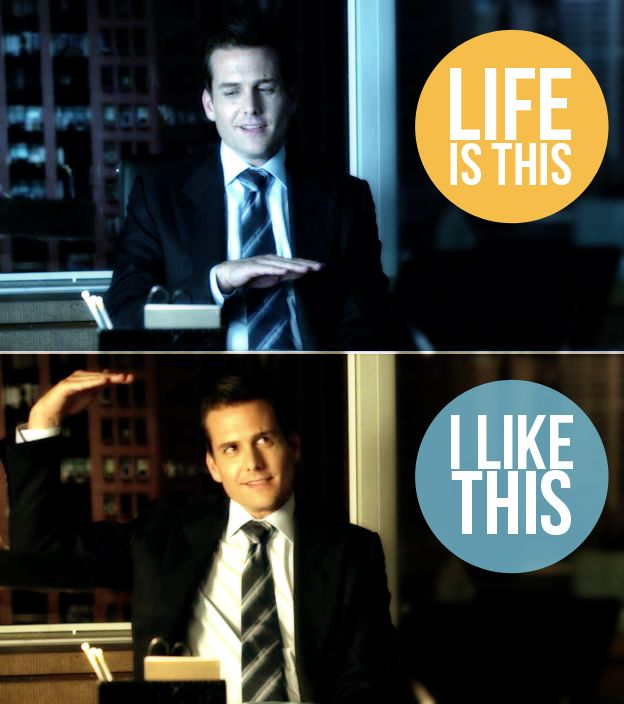 Gabriel Macht - Life is This, I like This - Harvey Specter by zaffa91
