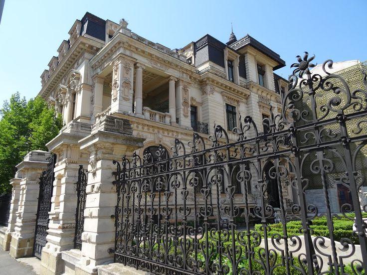 Casa Dunării, palatul Ghica