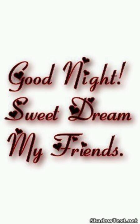 Good Night, Sweet Dreams