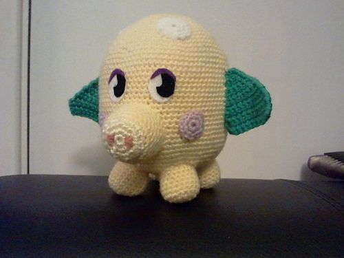 Amigurumi Moshi Monsters : Ravelry: Moshi Monster - Mr Snoodle pattern by Justine ...
