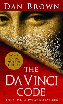 The Da Vinci Code by Dan Brown.