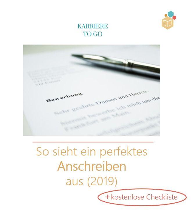 So Sieht Ein Perfektes Anschreiben Aus Bewerbung Schreiben Bewerbungsschreiben Bewerbung Anschreiben