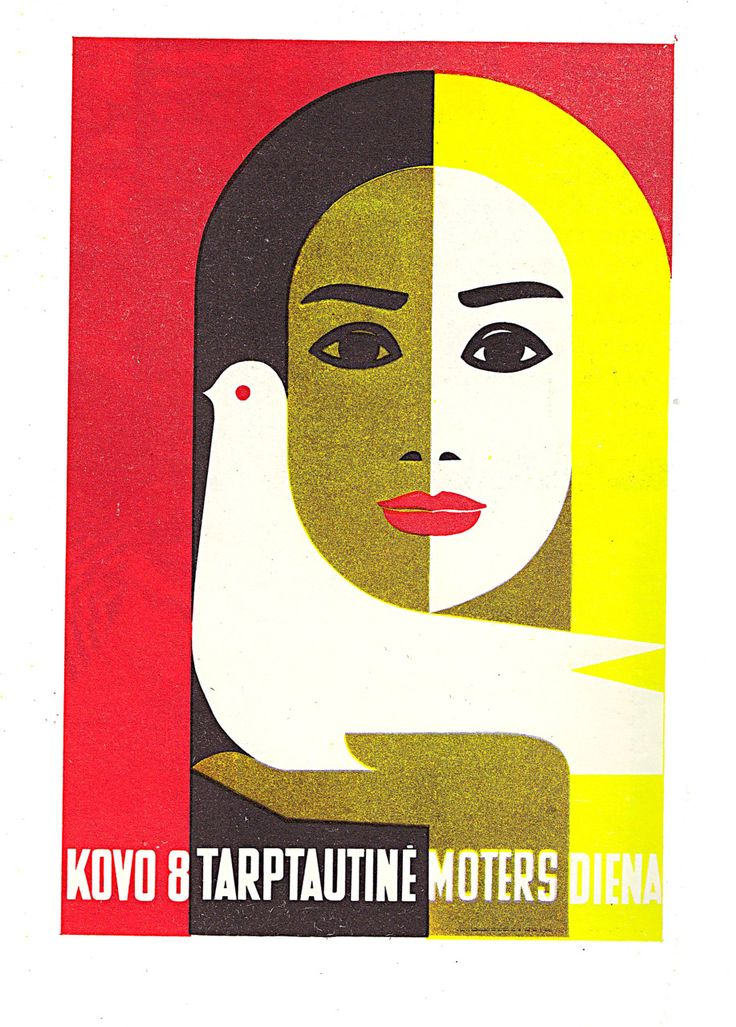 J. Galkus Poster for international Womens Day (1968)