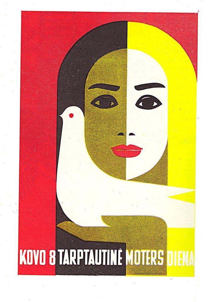 J. Galkus Poster for international Womens Day (1968)