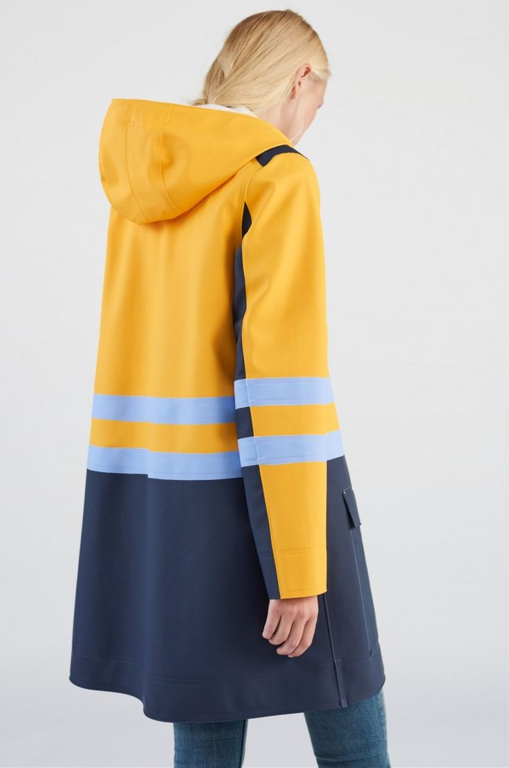 Stutterheim x Marni <br><br> Stutterheim has teamed up with Italian luxury brand Marni on an exclusive capsule collection of raincoats.  In this collaboration, Swedish melancholy meets the avant-garde aesthetic and spirit of Marni. Mixing colors and pa