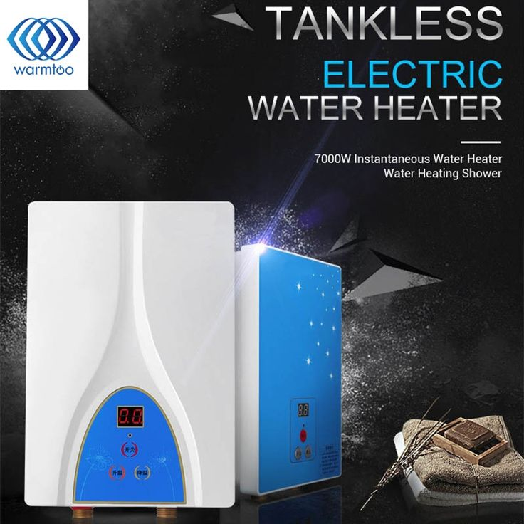 98.99$  Buy now - http://ali78z.shopchina.info/1/go.php?t=32720071692 - Electric Tankless Water Heater 6000W Instantaneous Water Heater Instant Electric Water Heating Shower  #magazineonline