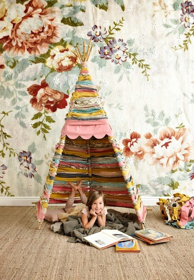 Amazing DIY tepee by Mokkasin