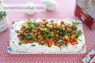 Yoğurtlu Nohut Salatası (Videolu Tarif) | Kevserin Mutfağı - Yemek Tarifleri