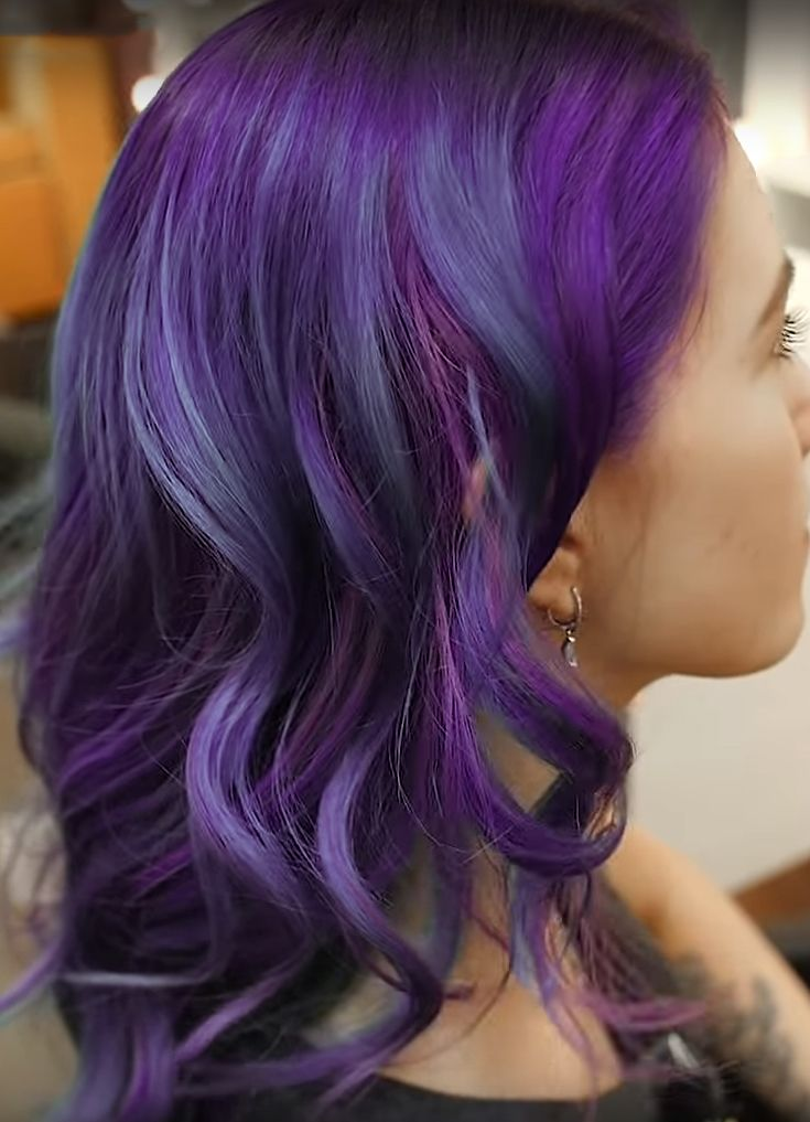 Best Sulfate Free Shampoo For Purple Hair Shampoo For Purple Hair Purple Hair Hair