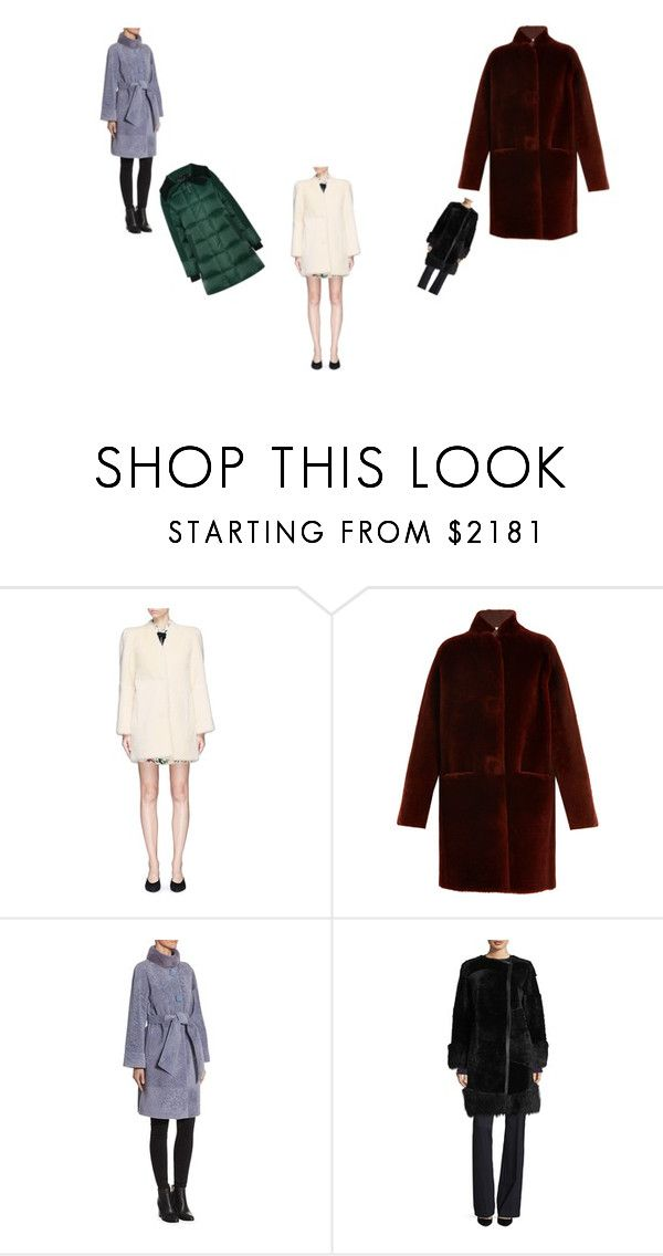 """""""Shearling Coats"""" by simonailiu ❤ liked on Polyvore featuring Chloé, Inès & Maréchal, The Fur Salon, BOSS Hugo Boss, Canada Goose and shearlingcoat"""