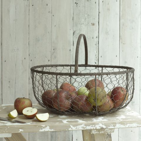 MARCHE. Use for storing food in the kitchen or holding loo rolls in the bathroom. Both have that laid-back air we love.