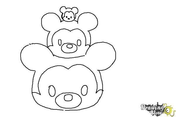 Tsum Free Disney Coloring Page