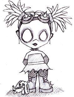 Résultats de recherche d'images pour «zombie girl tattoo»