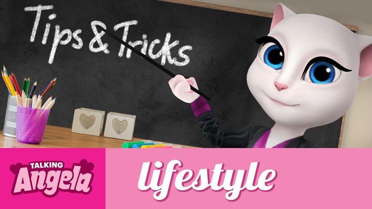 Talking Angela - Be Cool for School xo, Talking Angela #TalkingAngela #LittleKitties #MyTalkingAngela