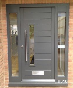 grey contemporary doors