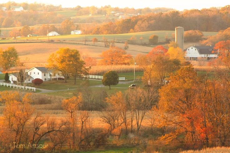countryside near Sugarcreek, Ohio