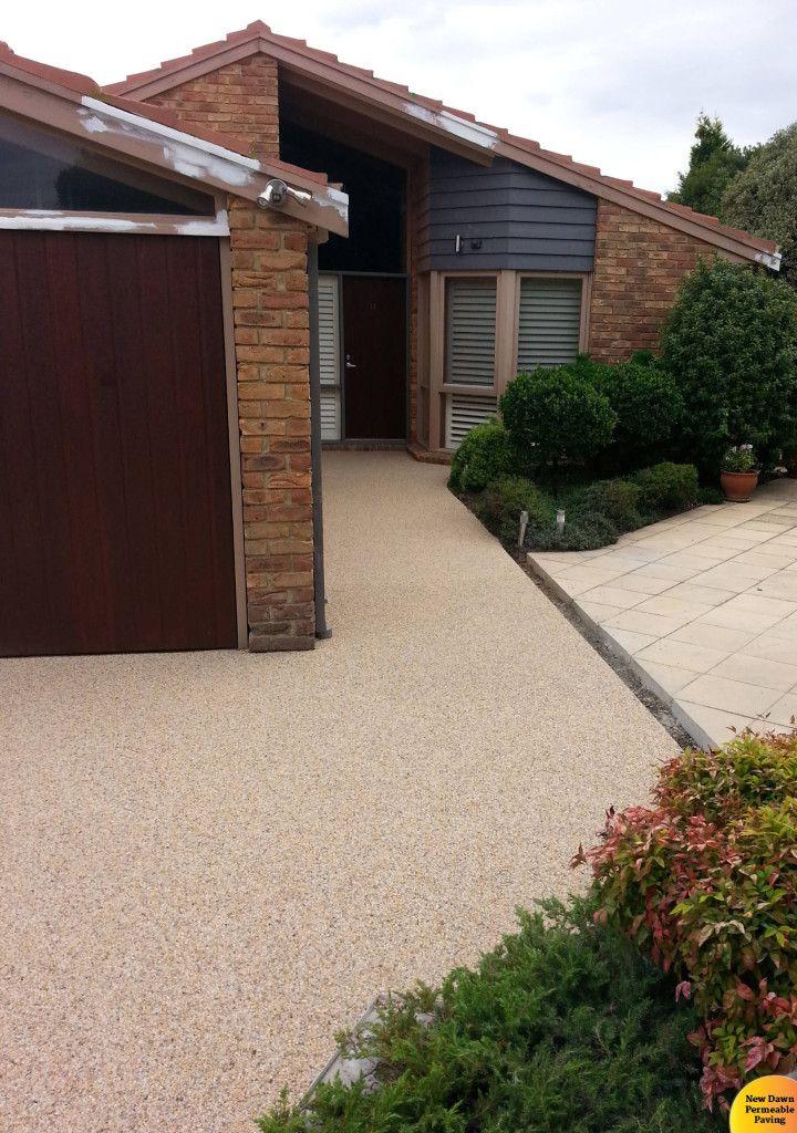 Driveway Resurfacing Pebble Pave