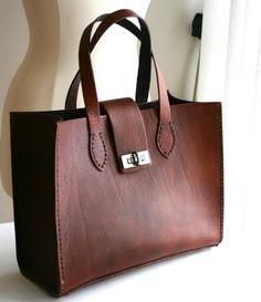 Ladies Leather Handbag — JustJaynes