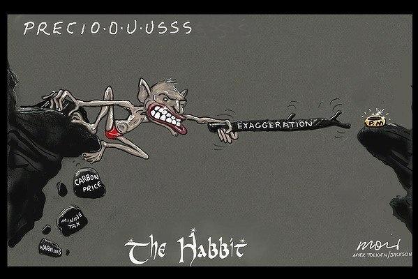 Just a Tony Abbott-Hobbit joke. #topical