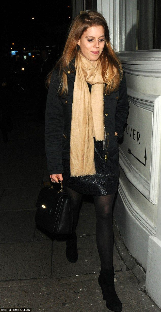 Princess Beatrice joins parents for dinner in Shoreditch ...