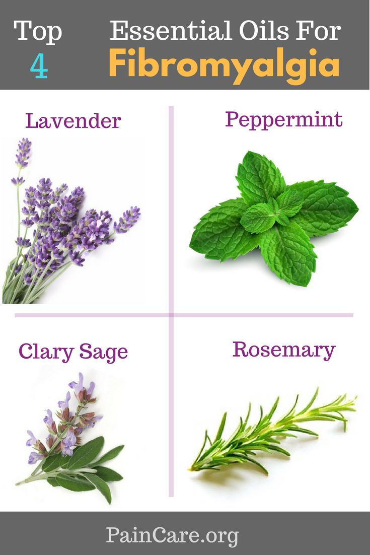 Top 4 Essential Oils for Fibromyalgia.