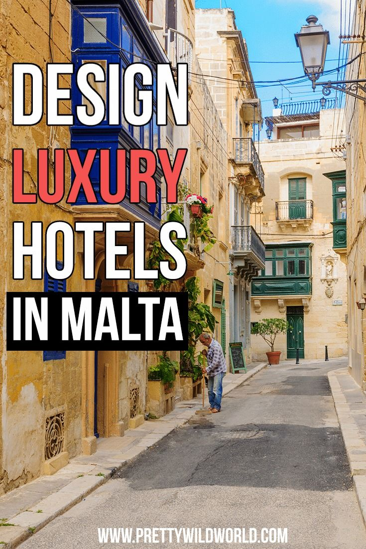 Check out these amazing design luxury hotels in Malta where you'll surely enjoy your stay!