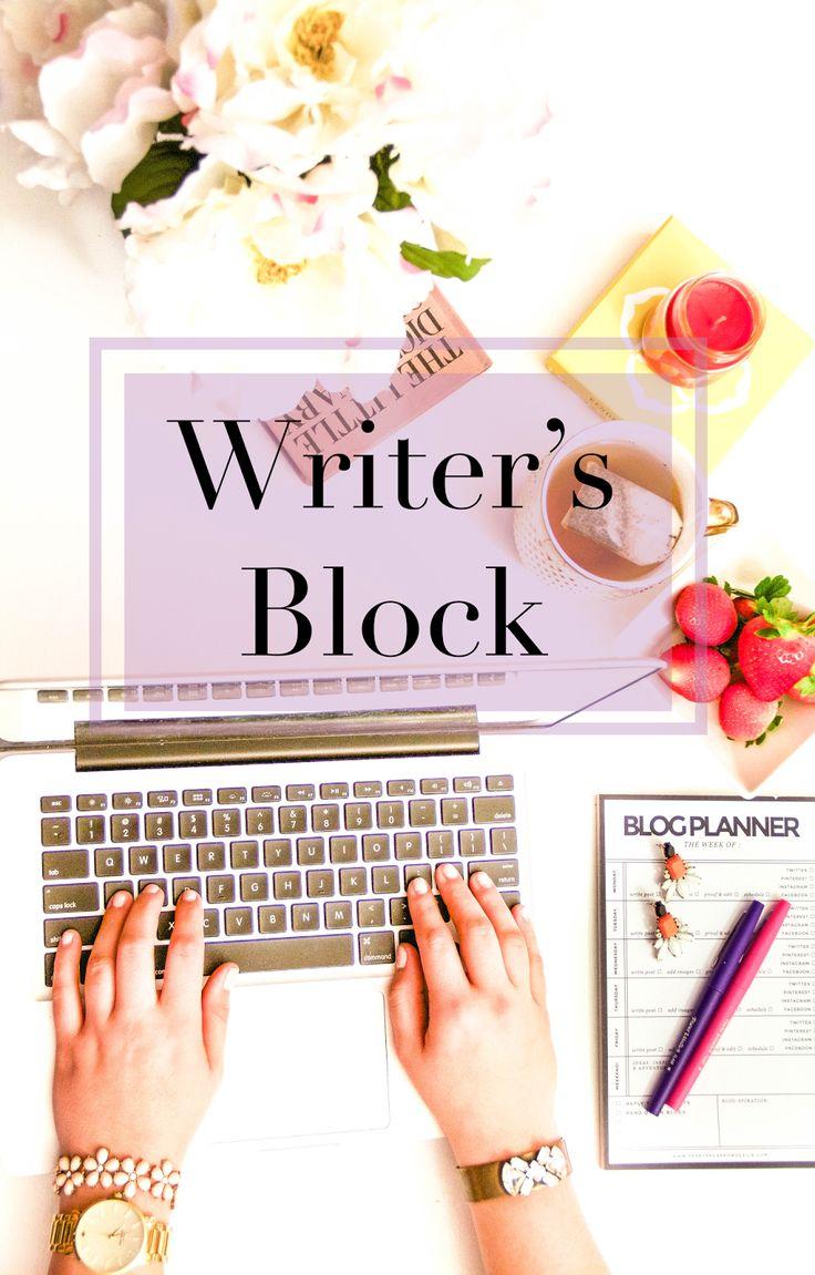 Mental block when writing a book