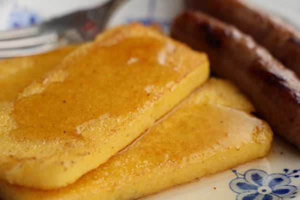 Fried Cornmeal Mush : Corn Maiden