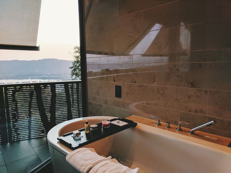 Room with a view over the Zurich Lake at The Dolder Grand #interior #bathroom