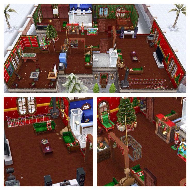 Christmas Sims Freeplay Original House Design FLOOR 2