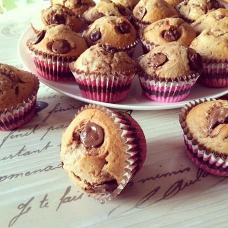 Muffin au nutella