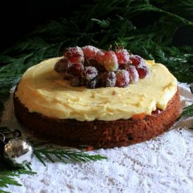 Chai Spiced Fruitcake [The Candid Kitchen]