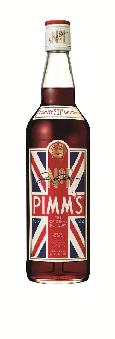 The timeless 'Pimm's Cup' is sure to be our go-to London Olympics summer cocktail!