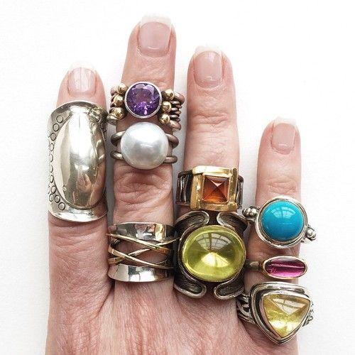 One too many? #margaretellisjewelry #mellisjewelry #MERingSale #sbguide #nashville #sale #rings #4thofJuly #referME #boompoppow