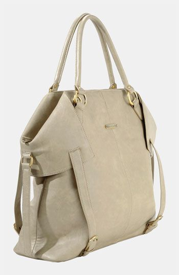 Timi & Leslie Diaper Bag. Exchanged the navy and grey for this sand and cinnamon one. It's much more wearable!