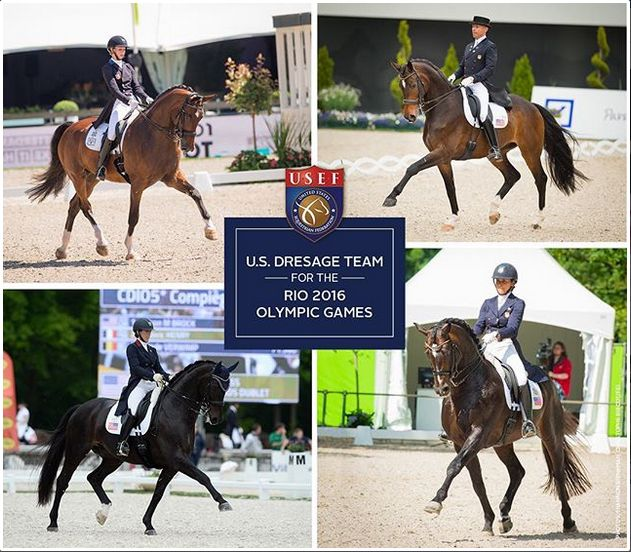 afghanistan team rio Olympics 2016 | USEF Names U.S. Olympic Dressage Team for…