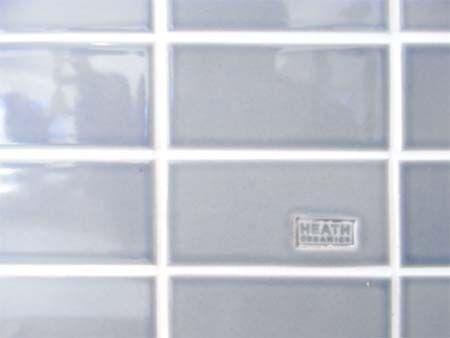Heath ceramics,, Polo gray 2×4