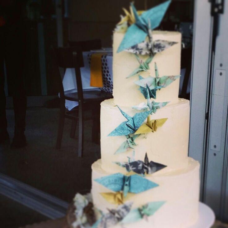 Wedding Cake - Jireh & Sho's Belongil Beach wedding #weddingcake#byronbay #weddings #weddingstyling #beachweddings