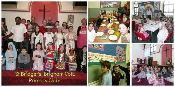 St Bridget's CofE Primary Clubs - Noah's Circle & Messy Ark (lunch & after school clubs) run by local Anglican & Methodist churches