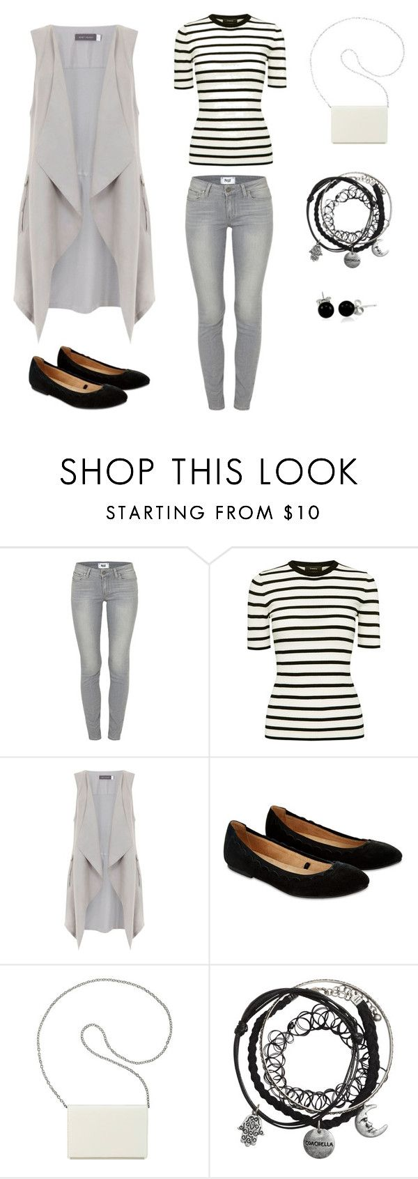 """сет 2"" by alionka-100 on Polyvore featuring мода, Paige Denim, Theory, Mint Velvet, Accessorize, Nine West и Bling Jewelry"