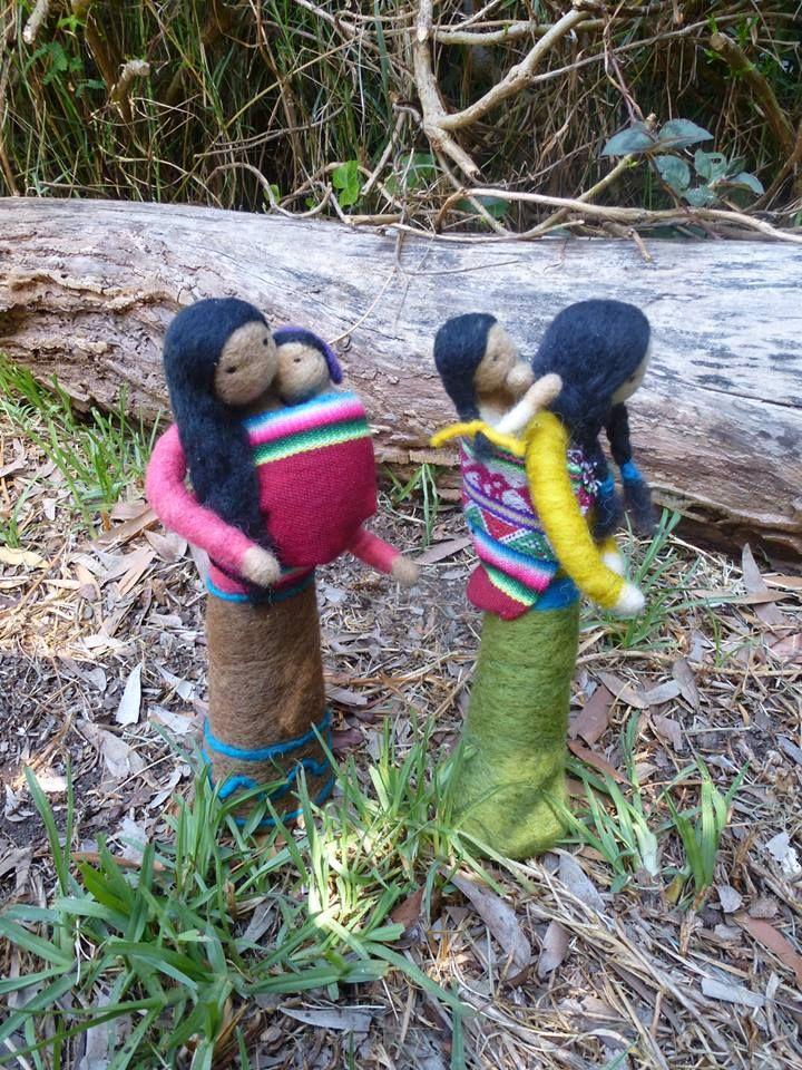 Mujeres del altiplano