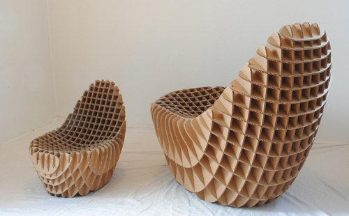 Cardboard Furniture. Love this!