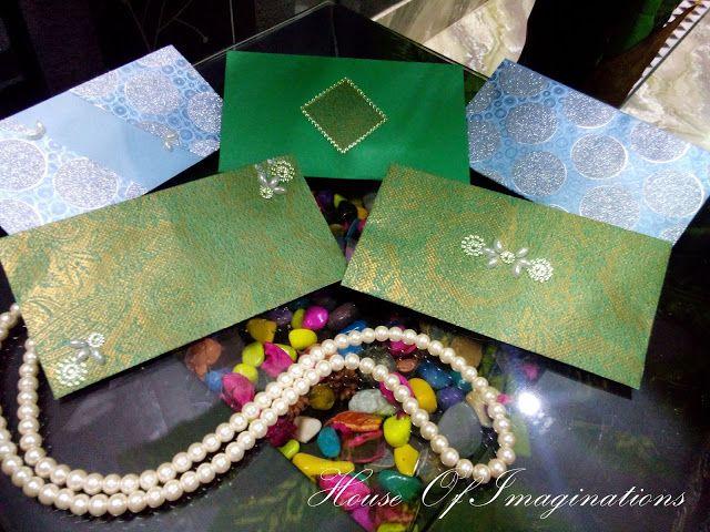 House Of Imaginations: Favor Envelopes